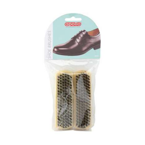Shoe brush 2PK