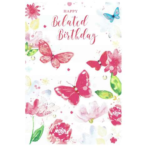 Everyday Greeting Cards code 50 - Belated