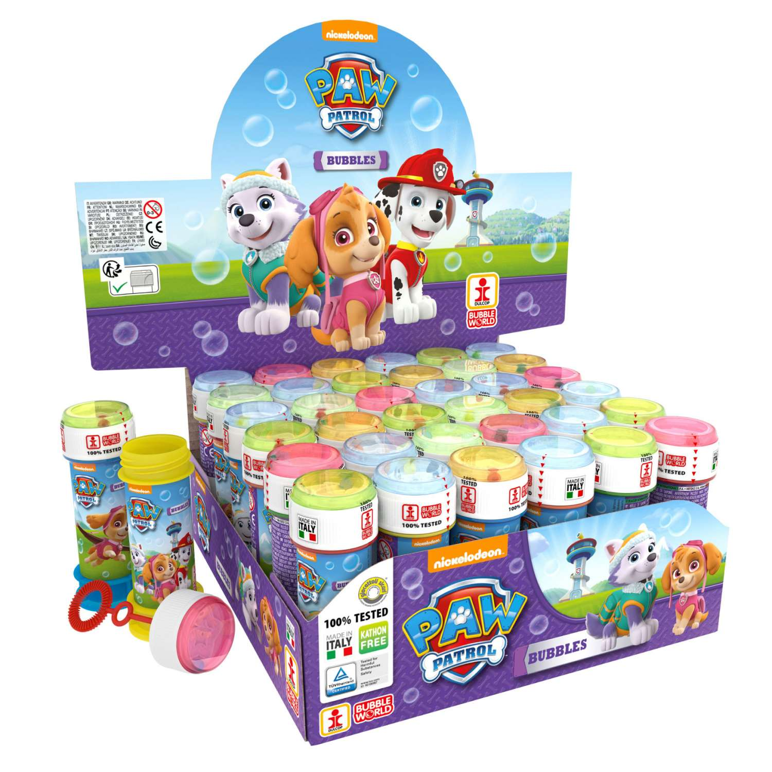 Paw patrol PINK bubble tubs 60ml - Homeware Essentials